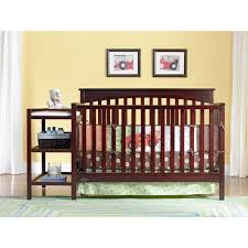 Cherry Convertible Crib Graco Woodbridge 2 In 1 Convertible Crib Cherry Walmart