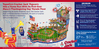 2014 american thanksgiving with cracker jack float pepsico debuts at macy u0027s thanksgiving parade