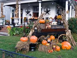 Outdoor Halloween Decor by 31 Cozy U0026 Simple Rustic Halloween Decorations Ideas U0026 Pictures