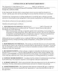 consulting agreement image titled write a consulting