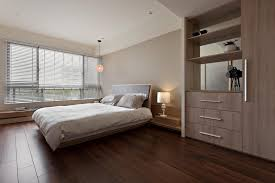 pink bedroom ideas by wooden bed with white f storage added