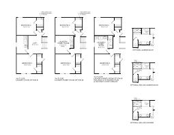 floor plan 2nd floor redfield new floorplan fischer homes