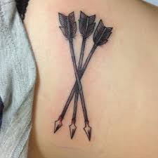 55 arrow tattoos