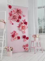 backdrop paper paper flowers paper flowers backdrop wedding backdrop