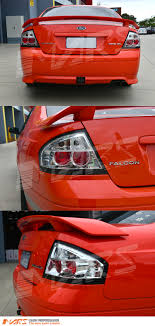 ford falcon tail lights crystal clear altezza tail lights for ford falcon fairmont fpv ba bf