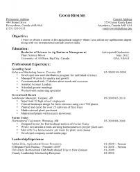 Sample Work Resume by Resume Objective Example For Summer Job Templates