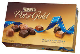 amazon com hershey u0027s pot of gold assorted milk and dark