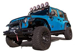 jk jeep high clearance all terrain flat fender flares for 2007 10 jk jeep