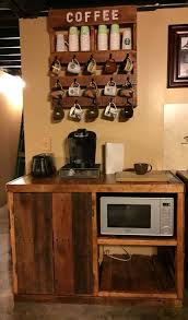 Cottage Kitchen Hutch English Cottage Kitchen Ideas With Rustic Wooden Microwave Hutch