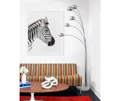Zebra Shower Curtain by Zebra Profile Kingdom By Randal Ford