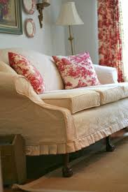 Slipcovers For Pillow Back Sofas by Best 25 Furniture Slipcovers Ideas On Pinterest Slipcovers