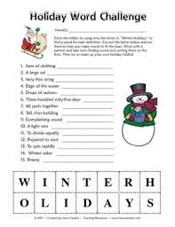 winter lesson plans themes printouts crafts winter holiday