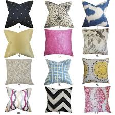Fall Decorative Pillows - the pillow collection inspiration blog