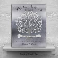40th anniversary gifts for parents 40th anniversary gift personalized family tree poem gift for parents
