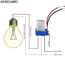 Switch Automatic Auto On Off Photocell Street Light Switch Dc Ac