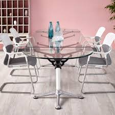 Designer Boardroom Tables Contemporary Boardroom Table Glass Aluminum Laminate