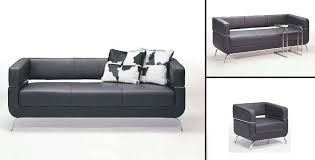 Black Leather Sofa Set Popular Of Contemporary Black Leather Sofa Elite Contemporary