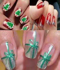 make special christmas nail art designs latest fashion styles