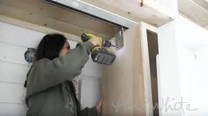 ana white slide out closet for tiny house diy projects