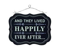 amazon com creative and they lived happily ever after wood wall