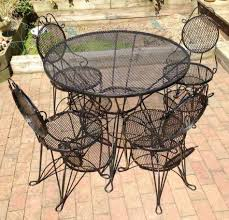 wrought iron outdoor dining table 20 beautiful wrought iron patio furniture design home and