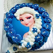 25 frozen themed birthday cake ideas elsa