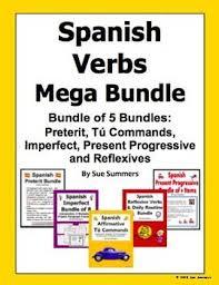 95 best spanish bundles images on pinterest languages