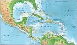 Sea World Map Map Of Caribbean Sea My Blog