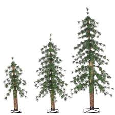 sterling inc unlit alpine 3 green pine artificial