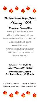 high school class reunion invitations 6 best class reunion invitation wording ideas class reunion