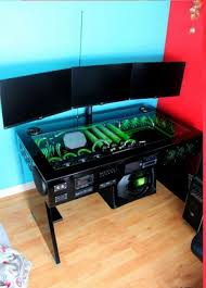 Computer Desk Mod Scratch Build Water Cooled Pc Desk Mod With Built In Car Sound