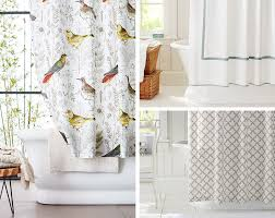 How To Select Curtains How To Choose The Right Shower Curtain For Your Shower Pottery Barn