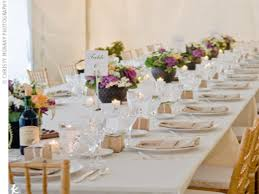 farm style rectangular tables rectangle tables wedding