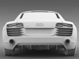 Audi R8 Exterior B U0026b Audi R8 V10 Plus 2013 By Creator 3d 3docean