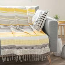 grand jeté de canapé jeté de canapé maison du monde meuble canapé design