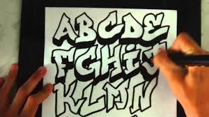 imagenes para dibujar letras graffitis como dibujar letras 3d de grafiti de a a z youtube