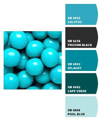 60 best paint color schemes azure blue from the passion color