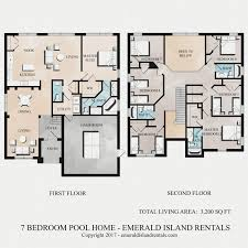 villa floor plan emerald island 7 bed villa floor plan