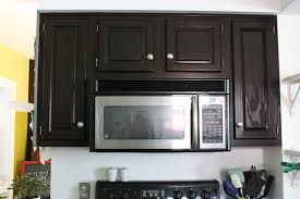 Can You Stain Kitchen Cabinets Darker How To Refinish Oak Cabinets With Stain The Big Reveal Merrypad
