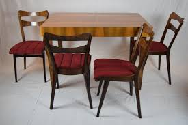 teak dining table u0026 four chairs 1960s for sale at pamono