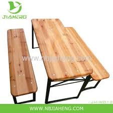 childrens bench and table set children s beer garden folding wood table and bench from china
