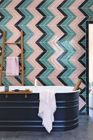 Tile Bathroom Wall by Best 10 Chevron Tile Ideas On Pinterest Herringbone Tile