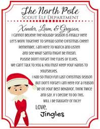 printable elf on the shelf arrival letter elf on the shelf letter free printable elves free printable and