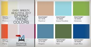 colors spring 2017 the easy breezy beautiful 2017 spring trend colors