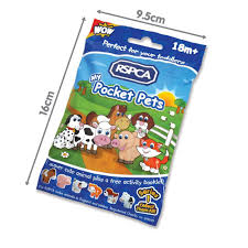 wow toys rspca my pocket pets party pack x5 amazon co uk toys