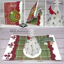 gift card trees burniston using the christmas tree pop up gift card label