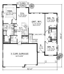 3 bedroom bungalow floor plan 3 bedroom bungalow house designs unbelievable plan 73005 24 3