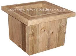 Wood Box Plans Free by Free Woodworking Plans How To Make A Planter Box