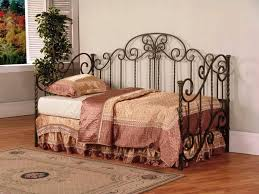 antique daybed frame metal heart cadel michele home ideas solid
