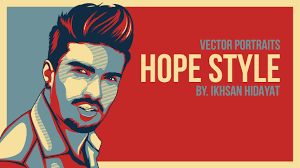 tutorial efek vektor di photoshop obama hope style tutorial vector adobe illustrator cc 2015 youtube